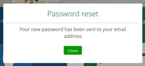 How to reset your password – Vera
